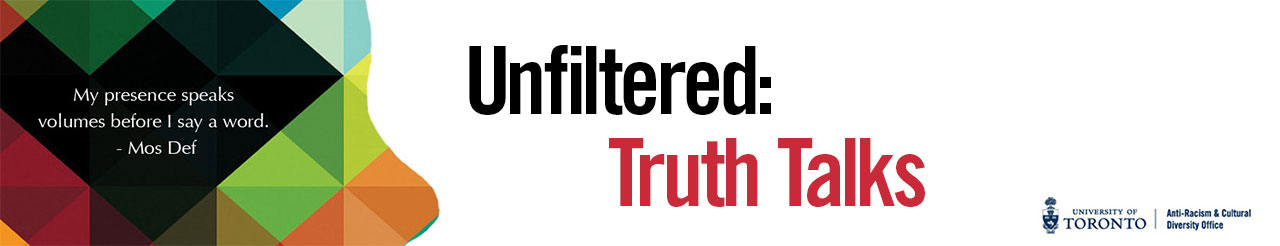 unfiltered truth talks event promotion banner