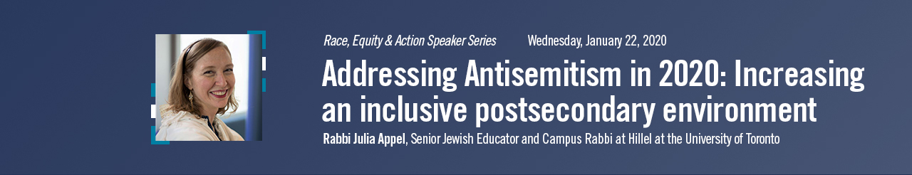 Addressing Antisemitism in 2020: Increasing an inclusive postsecondary environment
