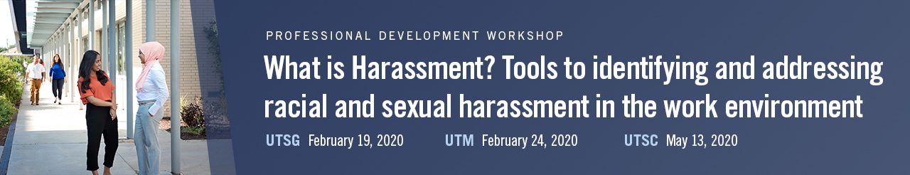 What is harassment? Tools to identify and address racial and sexual harassment