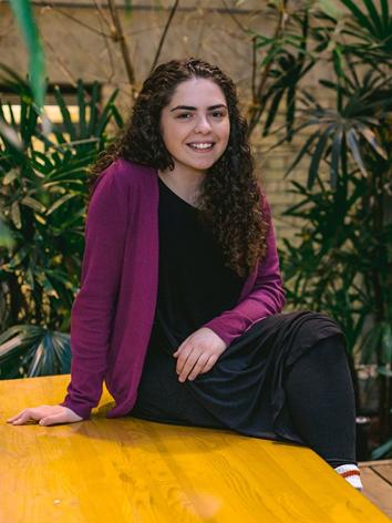 Sofia Freudenstein, Third year student, Bachelor of Arts, University of Toronto