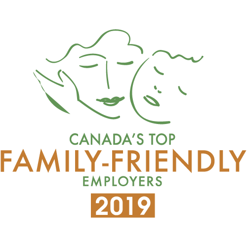 Canada's Top Family-Friendly Employers Badge