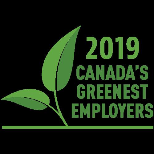 Canada's Greenest Employers Badge