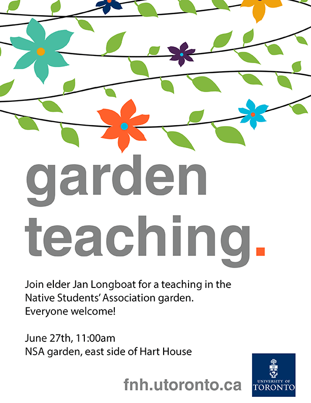 Garden Teaching - Jan Longboat