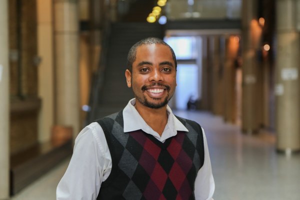 Portrait photo of Mikhail Burke Dean's Advisor on Black Inclusivity Initiatives and Student Inclusion & Transition Mentor
