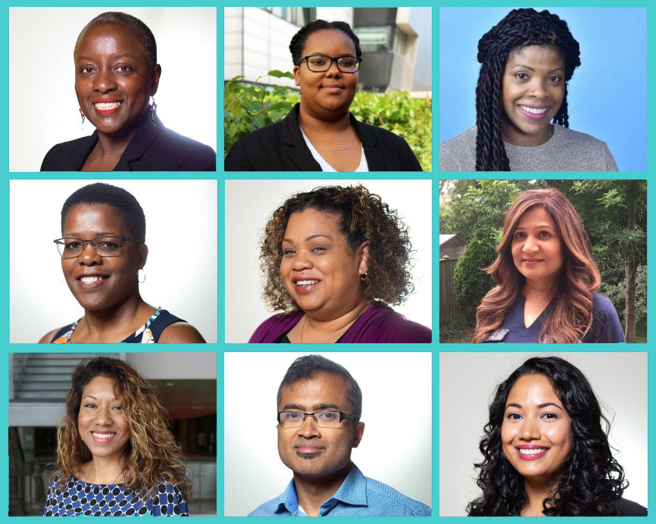 Portraits of the UTSC Connections & Conversations Local Executive Committee